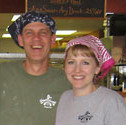 Bill and Nancy Cunningham Great Harvest Bread Franchise Owners