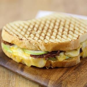 Photo of Apple Bacon Grill cheese sandwich