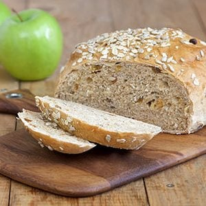 Photo of a loaf of Autumn Apple Bread